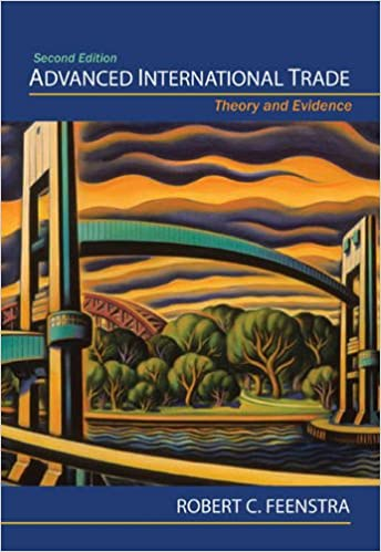 Theory and Evidence Second Edition Advanced International Trade