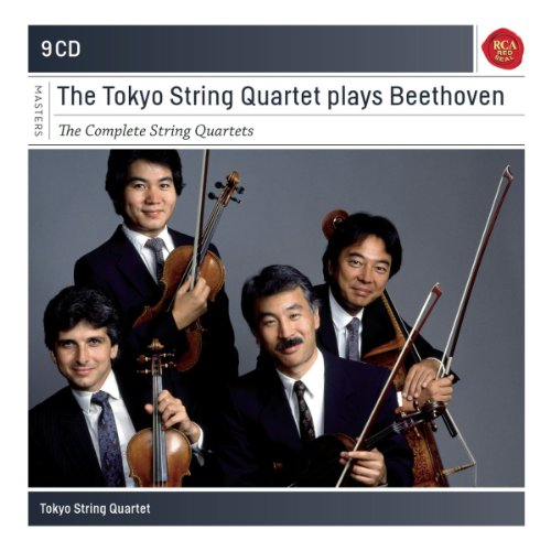 Price comparison product image The Tokyo String Quartet plays Beethoven : The Complete String Quartets