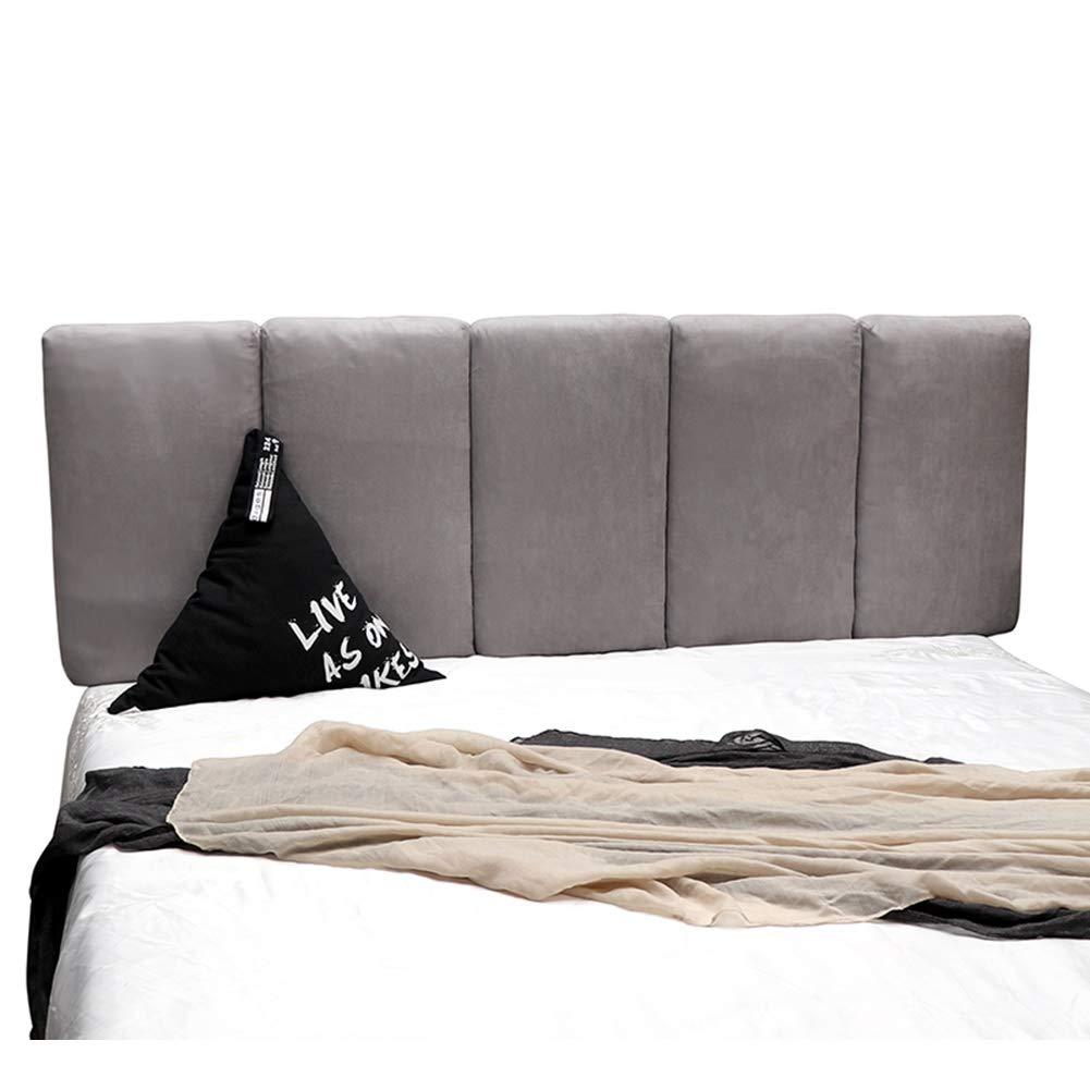 8 Taglie 7 Colori LIQICAI Cuscini Testiera da Letto Testiere Capezzale Cuscino Cuscini da Lettura Doppio Singolo Letto Matrimoniale Tappezzeria in Tessuto di Lino Naturale