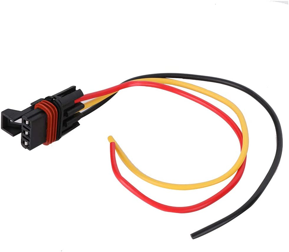 SHINEHOME 6PCS Pulse Power Plug Connector Pigtail 3 Way Compatible with 2018 2019 Polaris Ranger Crew XP1000 XP 1000 RS1 14//16 Gauge Wire Fits Polaris Pulse Power Strip Bus Bar