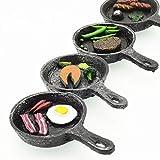 4-Pack Adorable handicraft frying pan Fridge