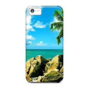 JeffMclaren Scratch-free Phone Case For Iphone 5c- Retail Packaging - Sailing In Paradise