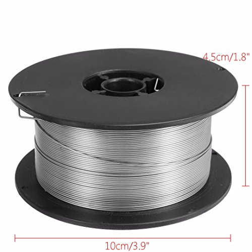 Stainless Steel Welding Wire, Rosin Core Solder Spool Gasless Flux Core Welding Wire 0.8mm 500g by PDTO (Image #1)