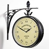 """Outdoor Garden Clock - Paddington - 27cm (10.5"""")"""