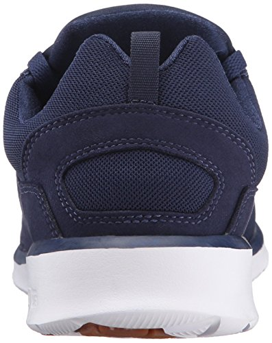 DC Heathrow Skate Shoe, Black/Grey/Green, 14 M US Navy