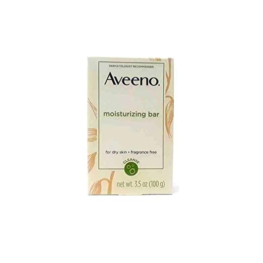 AVEENO Naturals Moisturizing Bar for Dry Skin 3.50 oz (Pack of 8)