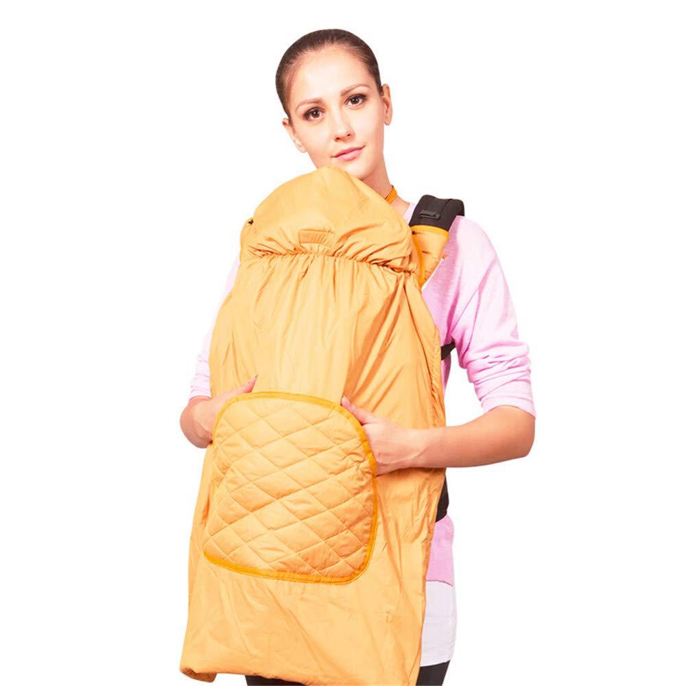FIFY Babytrage Baby, Das heraus den Taillenschemel stützt Herbst und Winterumhangumhangbaby Winddicht stützt, warme haltene Tasche P02 Traubenpurpur, B halten