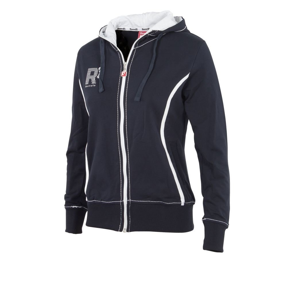 Reece Hockey Lismore Kapuzen Jacke Damen - Navy-Weiß, Größe Reece S