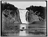 Photo: Montmorency Falls,water,cliffs,Province,Quebec,Detroit Publishing Company,1890