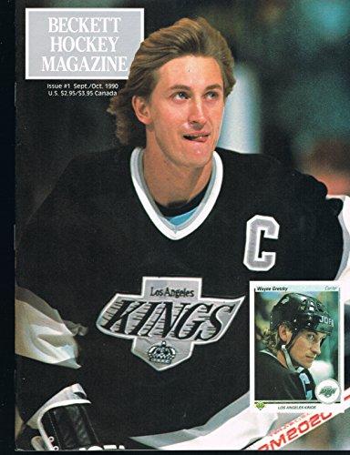 (Beckett Hockey Magazine Issue # 1 Oct 1990 WAYNE GRETZKY Cover PATRICK ROY Back )