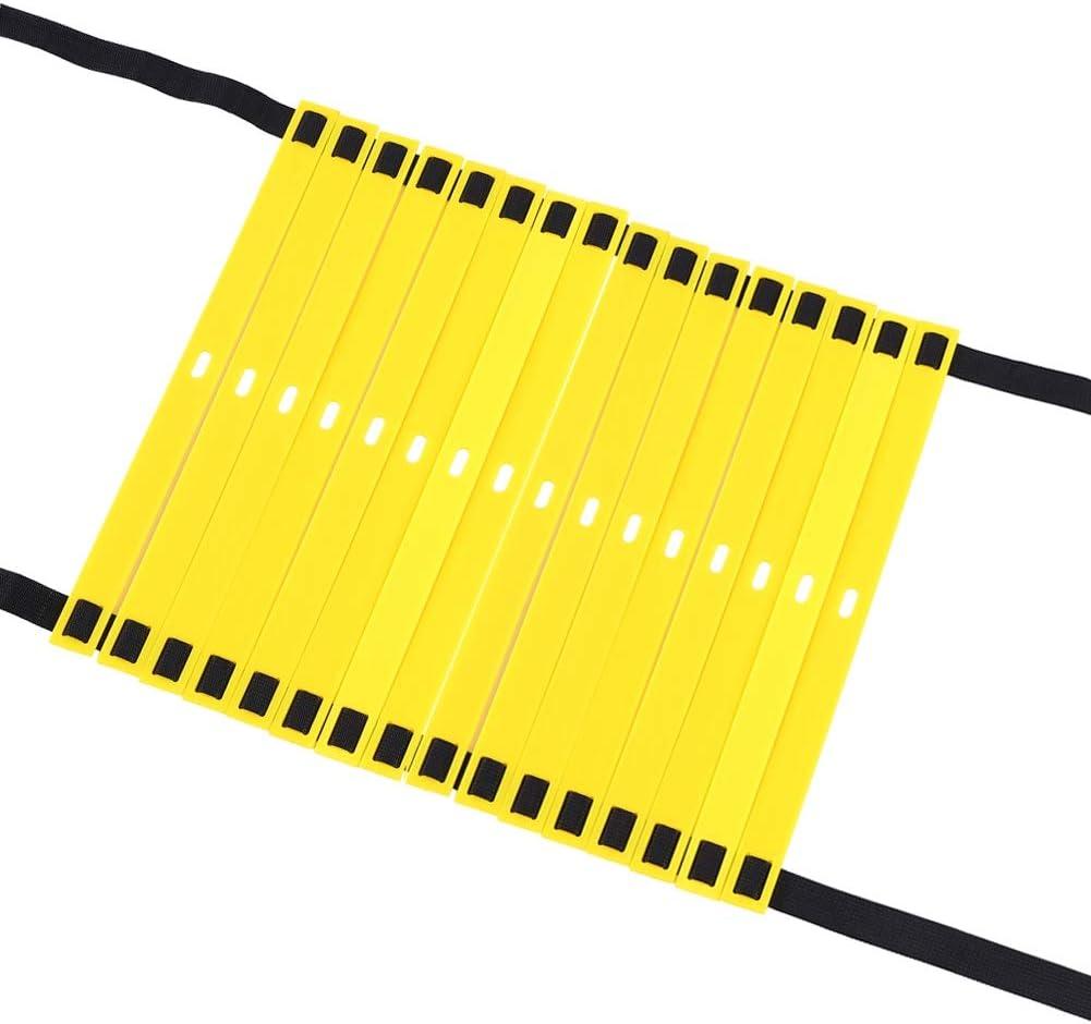 VGEBY /Échelle dagilit/é /échelle de Vitesse r/églable pour lentra/înement de Vitesse avec Pieds de Ballon de Football avec Sac de Rangement