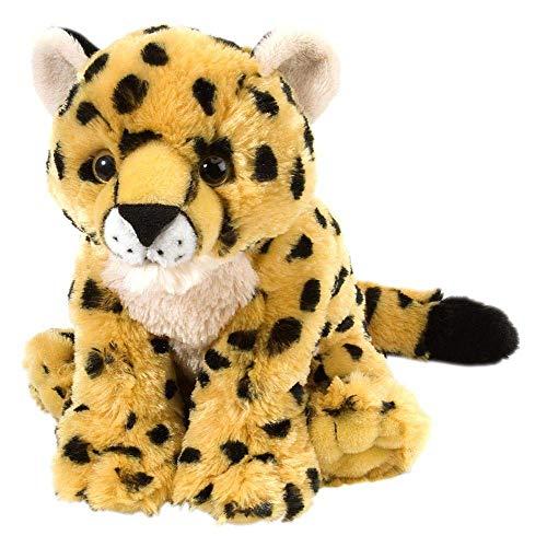 Wild Republic Cheetah Baby Plush, Stuffed Animal, Plush Toy, Gifts for Kids, Cuddlekins 8 - 8 Inch Cheetah