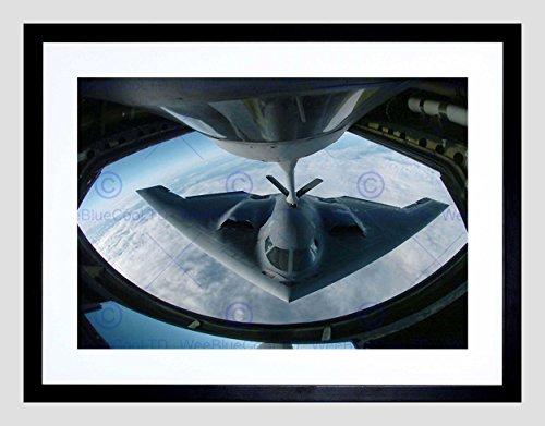 - The Art Stop Military AIR Plane Fighter Jet B-2 Spirit Bomber Stealth Framed Print B12X7951
