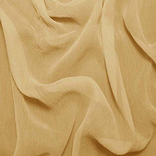Silk Crinkle Chiffon Fabric - 5
