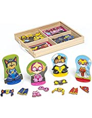 Melissa & Doug PAW Patrol Wooden Magnetic Pretend Play (64 Pieces)