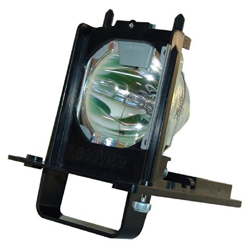Premium High Quality 915B455011 Projection TV Lamp With Housing For Mitsubishi WD-73640, WD-73740, WD-73840, WD-73C11, WD-73CA1, WD-82740, WD-82740, WD-82840 - 180 Days Warranty by Comoze Lamps (Tv Mitsubishi Lamp Wd73c11)