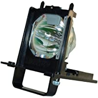 Premium High Quality 915B455011 Projection TV Lamp With Housing For Mitsubishi WD-73640, WD-73740, WD-73840, WD-73C11, WD-73CA1, WD-82740, WD-82740, WD-82840 - 180 Days Warranty by Comoze Lamps