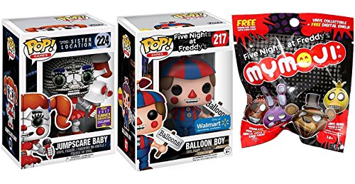 Funko POP FNAF Sister Location Jumpscare Baby 2017 SDCC Exclusive #224