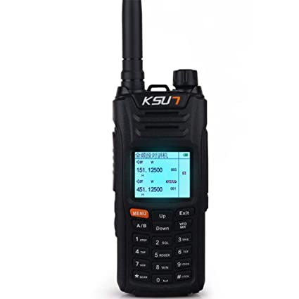 KSUN X-UV68D(MAX) walkie Talkie 8W high Power Dual Band Handheld Two Way  Ham Radio Communicator HF Transceiver Amateur Handy KSX68D-B