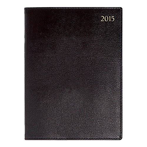 Lett's 2015 Signature Planner, Desk, Week to View, Black, 9.5 x 7 Inches (C38VBK-15) (2015 London Planner)