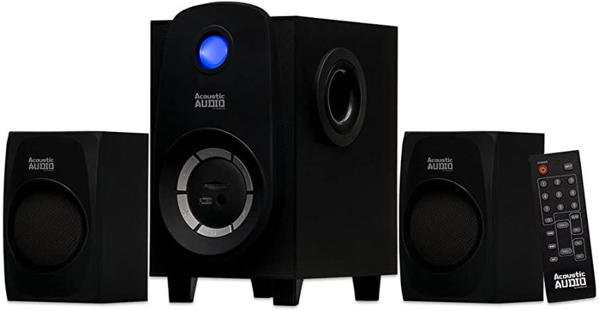 Acoustic Audio Bluetooth 2 1 Channel Home The