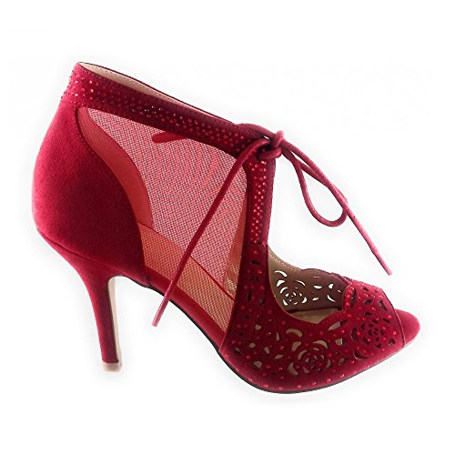Rosso For Rosso Women Lotus Pumps tXzqTT