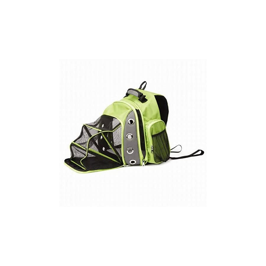MYYXT Pet Carrier, Breathable Double Shoulder Dog Pet Outdoor Travel Pet Holder Bag for Biking, Hiking, Trip, Shopping