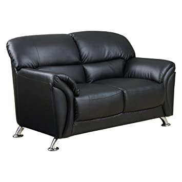 Marvelous Global Furniture Usa Vinyl Sofa Black Chrome Dailytribune Chair Design For Home Dailytribuneorg