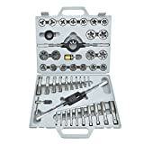 Neiko 00914AA Tap and Die Set Sea Alloy Steel (40 Piece)