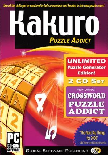 (GSP Kakuro Unlimited + Crossword Addict 2CD Set - PC)