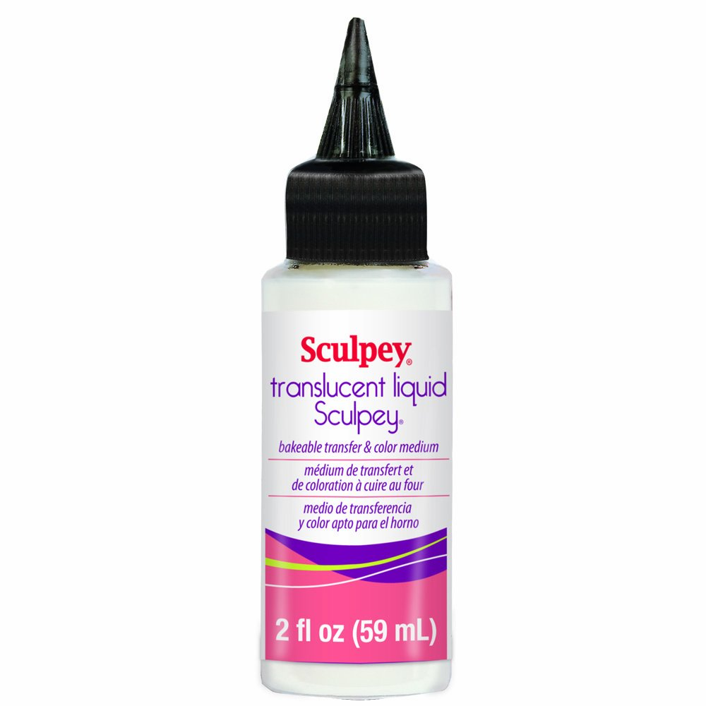 Polyform ALSB02 Sculpey Translucent Liquid, 2-Ounce