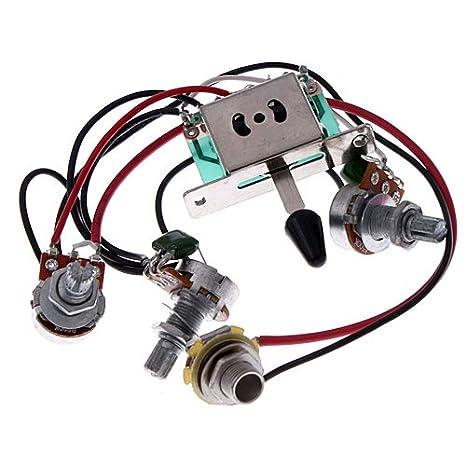 Strat Wiring Harness 500k
