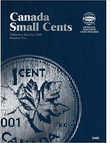 [0794824803] [9780794824808] Canadian Small Cents Folder Number 2: Collection Starting 1989 (Official Whitman Coin Folder)- Hardcover