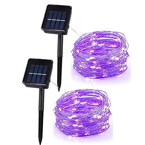 Copper Effect Solar Garden Lights in US - 5