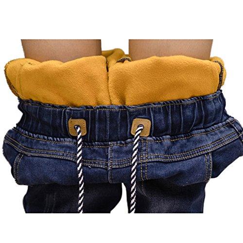 un pantalon jean Jeans pantalon Moshow harlan paissir Bleu pantalon pantalon en dcontract crayon 0Iq08Z