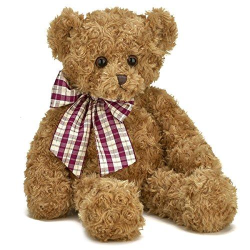 Bearington Wuggles Plush Stuffed Animal Teddy Bear, Brown 18