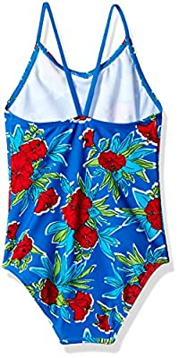 Kanu Surf Girls' Krista Floral 1-Pc Swimsuit