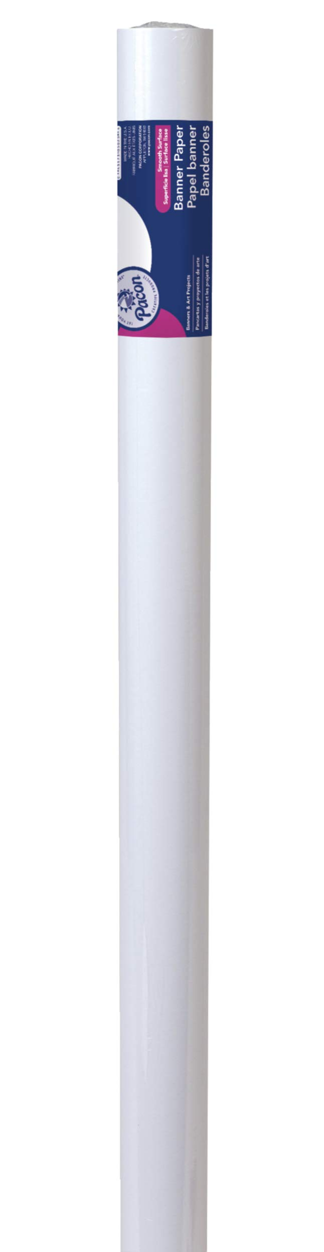 Pacon Banner Roll, 36''X75', White by PACON