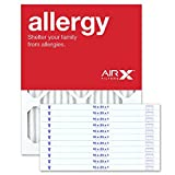AIRx Filters Allergy 16x20x1 Air Filter MERV 11 AC Furnace Pleated Air Filter Replacement Box of 12, Made in the USA