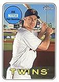 Baseball MLB 2018 Topps Heritage #158 Joe Mauer #158 NM Near Mint Twins
