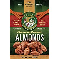 Magic Bavarian Cinnamon Roasted Almonds - Healthy Nut Snacks to Satisfy Your Hunger and Increase Your Energy - Lightly Sweet, Roasted Nuts - MADE IN THE USA - Vegan, Vegetarian, Gluten-Free