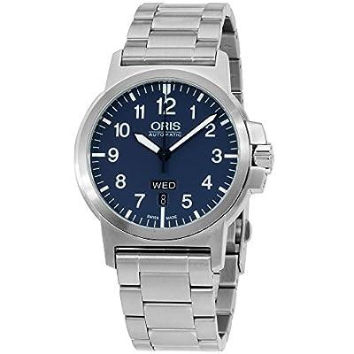 Oris Aviation Blue Dial Stainless Steel Men's Watch 73576414165MB