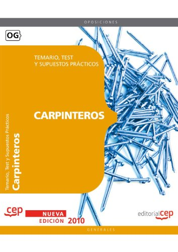 Descargar Libro Carpinteros. Temario, Test Y Supuestos Prácticos Sin Datos