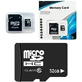 YENJOS 32G TF Card (Micro-SD), Micro SD ad alta velocità con memoria SD Card, classe 32G Micro-SD con adattatore per cellulare Micro SD