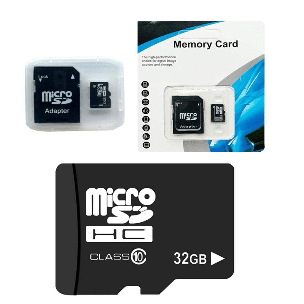 Zippem 32G MicroSD Cards 10 High Speed Memory TF Card with Adapter Mobile Phone MicroSD Cards by Zippem