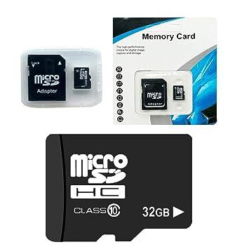 gensit Tarjeta de Memoria TF de Alta Velocidad 32G Clase 10 Micro ...