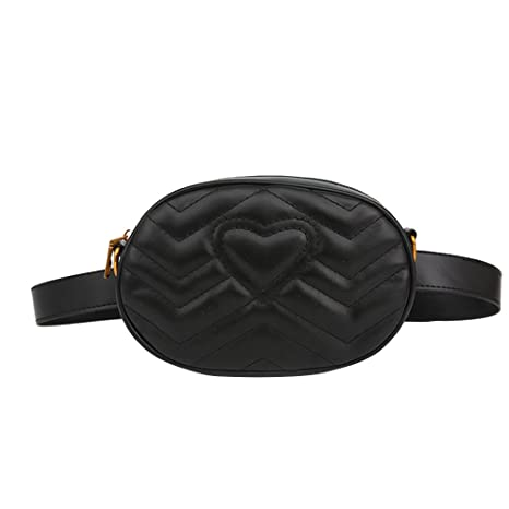 f6dd0fb9c719 Amazon.com: TENDYCOCO Fashion Elegant PU Leather Fanny Packs for ...