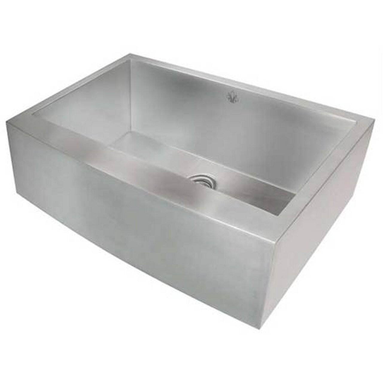 Artisan CPAZ-3021-D10 Single Basin 16-Gauge Stainless Steel Apron Sink Chef Pro Collection