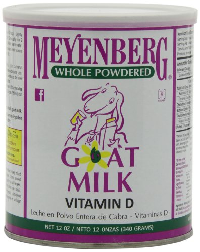 Meyenberg Whole Powdered Goat Milk, Vitamin D, 12 Ounce (Pack of 3)