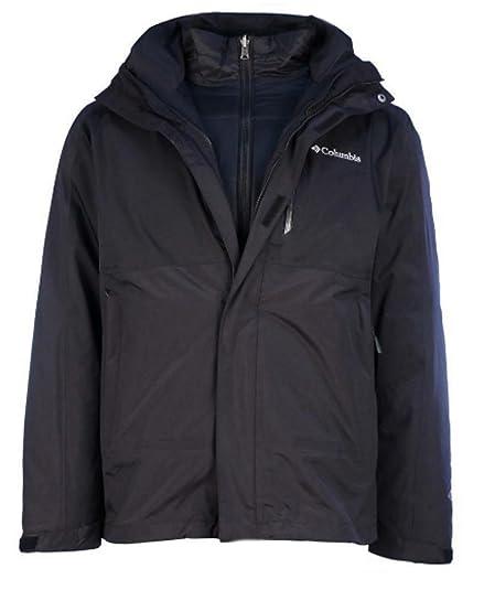 Amazon.com: Columbia Mens Rural Mountain II Interchange Jacket-Black/Black-Large: Shoes